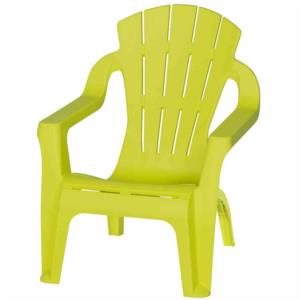 Kinder-Deckchair, lime green